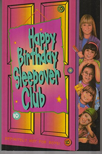 9780007271429: Happy Birthday, Sleepover Club (The Sleepover Club)