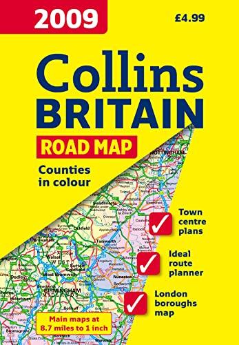 9780007272495: 2009 Map of Britain