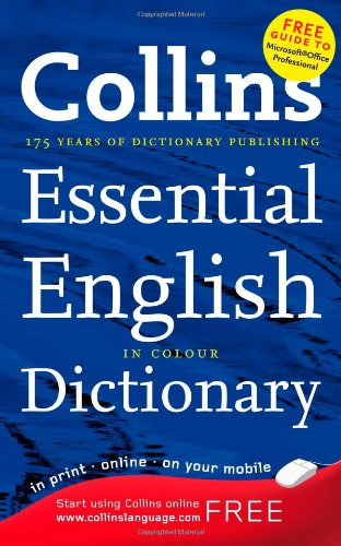 9780007272525: Collins Essential - Collins Essential English Dictionary