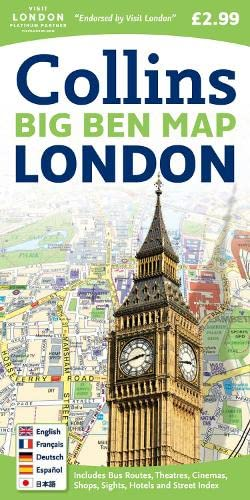 9780007273843: London Big Ben Map
