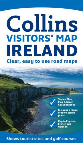 9780007273850: Visitors' Map Ireland (Collins Travel Guides)
