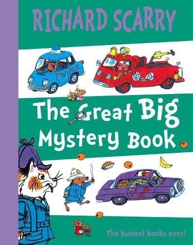 9780007274277: Great Big Mystery Book: Two Favourite Scarry Stories Combined in One Big Book