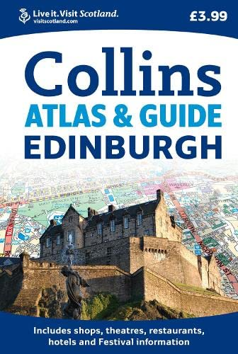 9780007274383: Collins Edinburgh Atlas & Guide (Collins Travel Guides)