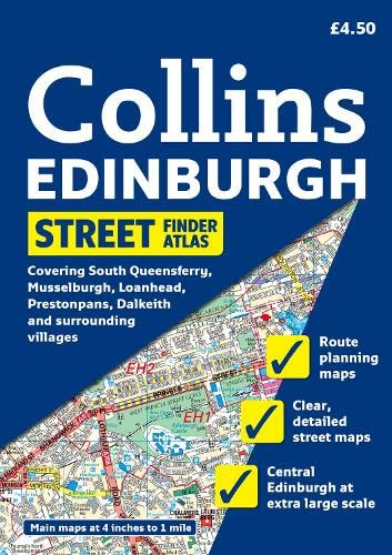 9780007274413: Collins Edinburgh Street Finder Atlas: A5 Edition (Collins Travel Guides)