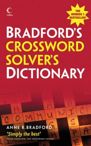 9780007274642: Bradford's Crossword Solver's Dictionary