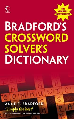 9780007274642: Collins Bradford's Crossword Solver's Dictionary