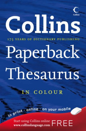 9780007274659: Collins Paperback Thesaurus A-Z