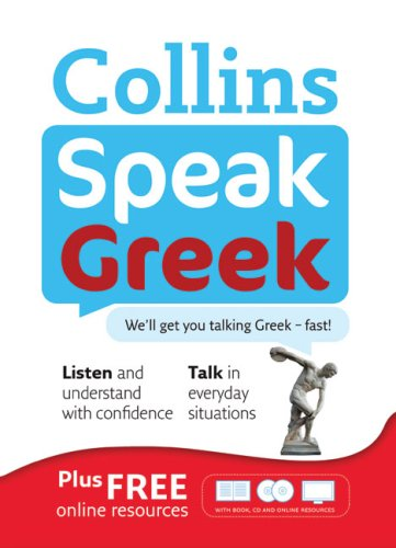 Collins Speak Greek: Book and Two CD Set