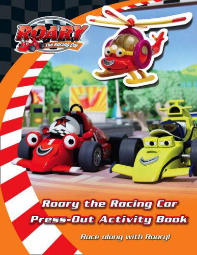 9780007275151: Ready to Race Press-Out Activity Book. (Roary the Racing Car)