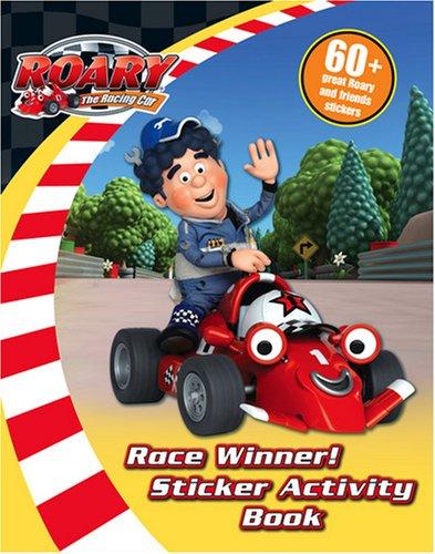 9780007275267: Roary the Racing Car - Race Winner!: Sticker Activity Book