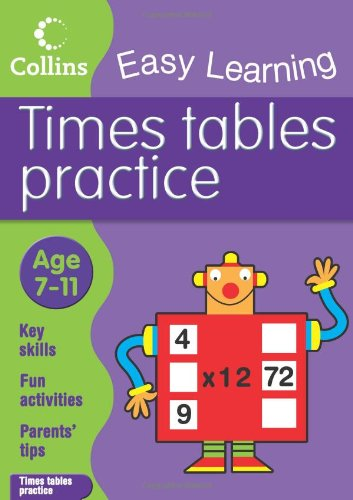 9780007275977: Times Tables Practice: Age 7-11 (Collins Easy Learning Age 7-11)