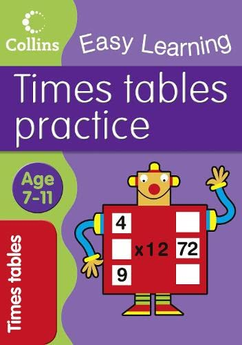 9780007275977: Times Tables Practice (Collins Easy Learning Age 7-11)