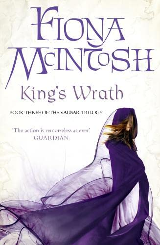 9780007276059: The King's Wrath: Book Three of the Valisar Trilogy