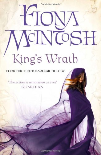 9780007276066: King's Wrath: Book Three of the Valisar Trilogy