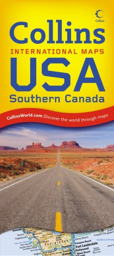9780007276318: USA and Southern Canada (Collins International Maps)
