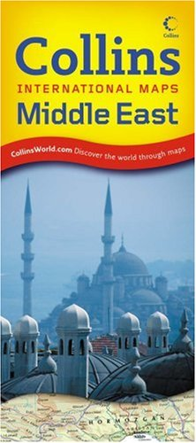 9780007276325: Collins International Maps - Middle East