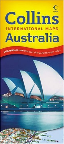 9780007276332: Australia (Collins International Maps)