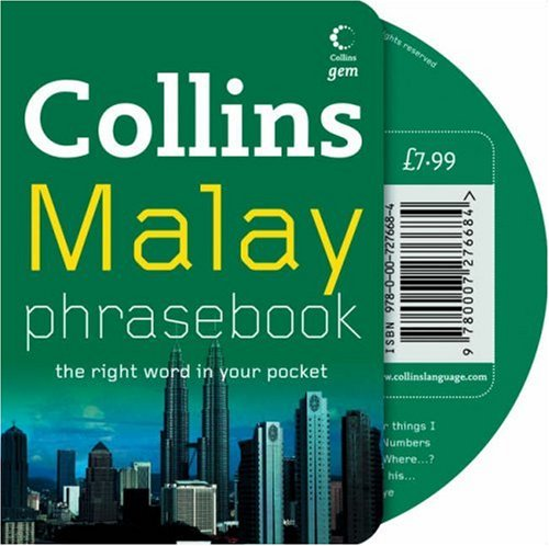 9780007276684: Collins Malay Phrasebook CD Pack: The Right Word in Your Pocket (Collins Gem)