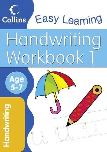 9780007277568: Handwriting Workbook 1 (Collins Easy Learning Age 5-7)