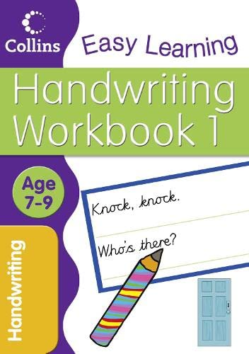 9780007277582: Handwriting Age 7-9 Workbook 1 (Collins Easy Learning Age 7-11): Age 5-7