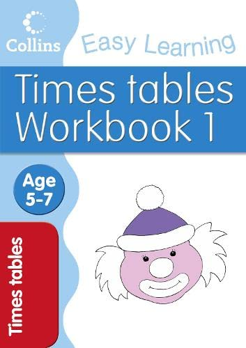 9780007277605: Times Tables Workbook 1: Age 5-7 (Collins Easy Learning Age 5-7)