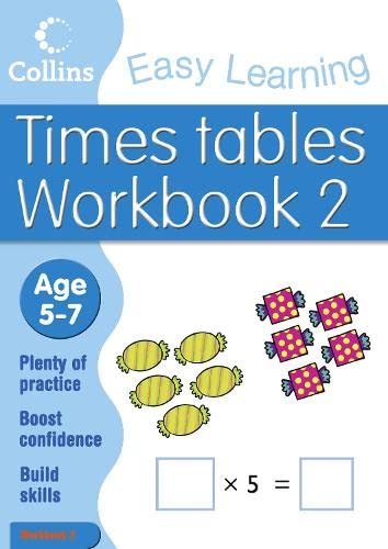 9780007277612: Times Tables Workbook 2: Age 5-7 (Collins Easy Learning Age 5-7)