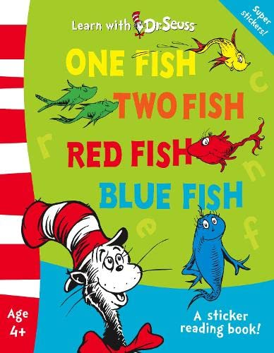 9780007278138: One Fish, Two Fish, Red Fish, Blue Fish (Learn With Dr. Seuss)