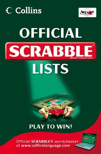 9780007278480: Collins Scrabble Lists
