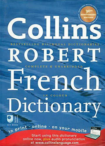 9780007280445: Collins Robert French Dictionary (Collins Complete and Unabridged)
