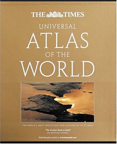 9780007280650: The Times Universal Atlas of the World (World Atlas)