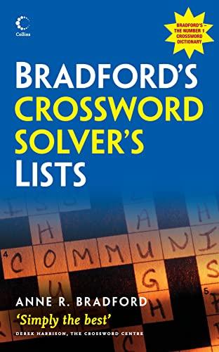 9780007280865: Bradford's Crossword Solver's Lists