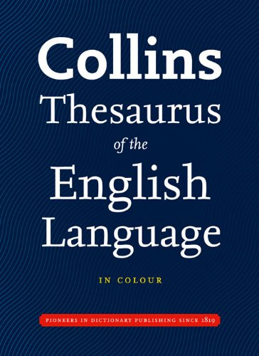 9780007281015: Collins Thesaurus of the English Language (Collins Complete and Unabridged)