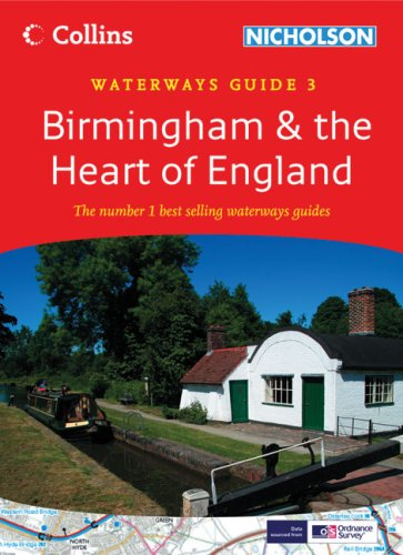 9780007281626: Collins/Nicholson Waterways Guides (3) - Birmingham and the Heart of England