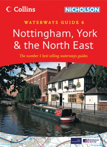 9780007281664: Collins/Nicholson Waterways Guides (6) - Nottingham, York and the North East