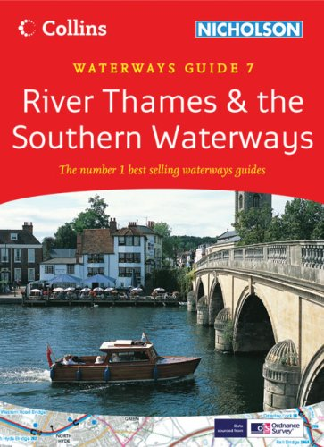 9780007281671: Collins/Nicholson Waterways Guides (7) - River Thames and the Southern Waterways