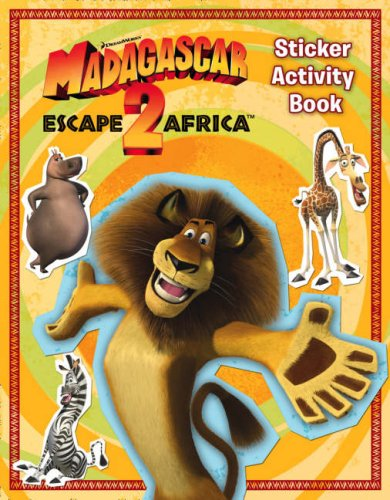 Madagascar: Escape 2 Africa - Sticker Activity Book
