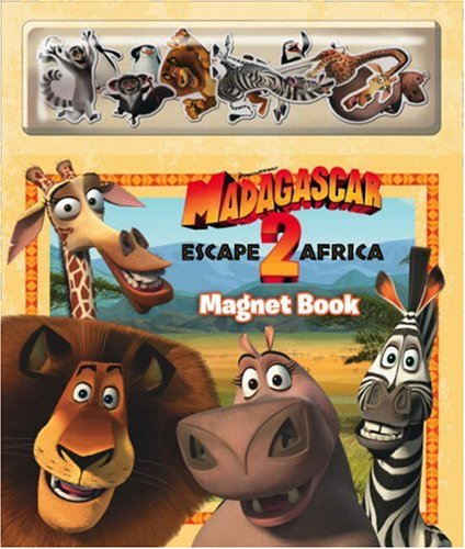 9780007284450: Madagascar: Escape 2 Africa - Magnet Book