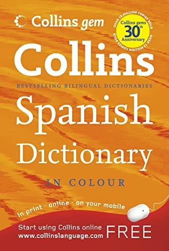 9780007284498: Spanish Dictionary (Collins GEM)