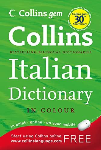 9780007284504: Collins Gem Italian Dictionary (Collins Gem)