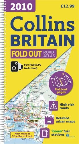 9780007285020: 2010 Collins Fold Out Road Atlas Britain (International Road Atlases)