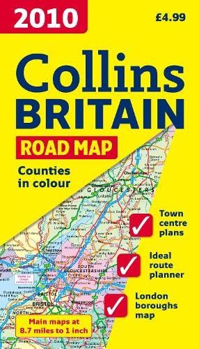 9780007285044: 2010 Collins Map of Britain