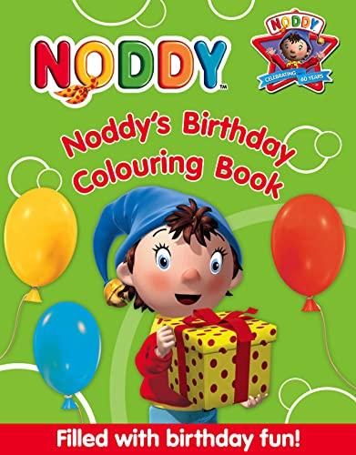9780007285198: Noddy's Birthday Colouring Book