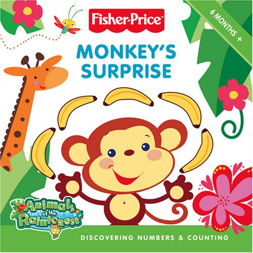 9780007285716: Fisher-Price Animals of the Rainforest - Monkey's Surprise: Discovering numbers and counting