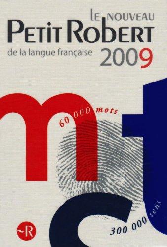 9780007285884: Le Petit Robert (Dictionary)