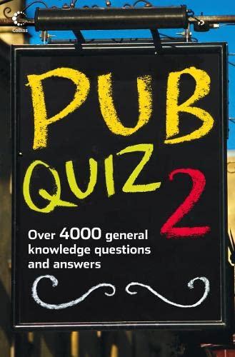 9780007286577: Pub Quiz 2 (Bk. 2)