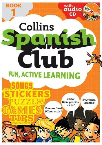 9780007287581: Spanish Club Book 1: Bk. 1 (Book & Audio CD)
