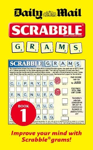 9780007287604: Collins Daily Mail Scrabble Grams: Puzzle Book 1: Bk. 1 (Scrabble Grams 1)