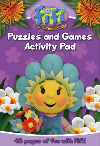 9780007288304: Fifi and the Flowertots – Puzzles and Games Activity Pad