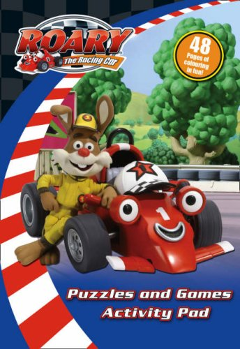 9780007288328: Roary the Racing Car - Puzzles and Games Activity Pad