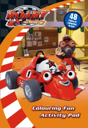 9780007288335: Roary the Racing Car - Colouring Fun Activity Pad